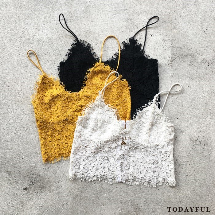 【SOLDOUT】TODAYFUL トゥデイフル Lace Bustier 11710408 【17SS1】