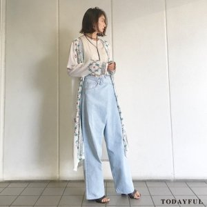 ●TODAYFUL トゥデイフル Embroidery Long Gown 11710423 【17SS1】【新作】 <img class='new_mark_img2' src='//img.shop-pro.jp/img/new/icons11.gif' style='border:none;display:inline;margin:0px;padding:0px;width:auto;' />