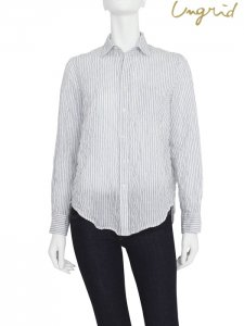 UNGRID アングリッド 【Ca】ストライプルーズシャツ 111730445701 【17SS2】【SALE】【40%OFF】<img class='new_mark_img2' src='https://img.shop-pro.jp/img/new/icons20.gif' style='border:none;display:inline;margin:0px;padding:0px;width:auto;' />