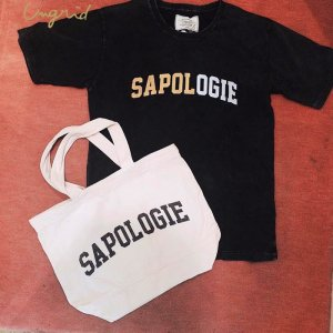 UNGRID アングリッド 【Ca】SAPOLOGIEプリントTee SET 111732704501 【17SS2】【新作】 <img class='new_mark_img2' src='https://img.shop-pro.jp/img/new/icons11.gif' style='border:none;display:inline;margin:0px;padding:0px;width:auto;' />