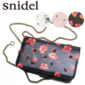 SNIDEL スナイデル プリントビーズiphoneケース SWGG171616 【17SS1】【SALE】【40%OFF】