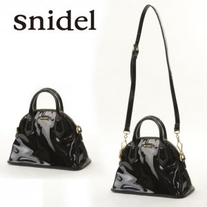 SNIDEL スナイデル セミサークルバッグ SWGB135610 【13AW2】【SALE】【60%OFF】