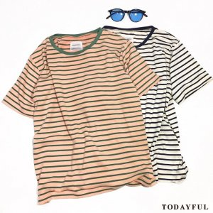 ●TODAYFUL トゥデイフル Conpact Border Tee 11710604 【17SS1】【新作】 <img class='new_mark_img2' src='//img.shop-pro.jp/img/new/icons11.gif' style='border:none;display:inline;margin:0px;padding:0px;width:auto;' />
