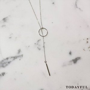 【SOLDOUT】TODAYFUL トゥデイフル Chain Loop Necklace 11620961 【16AW2】 <img class='new_mark_img2' src='https://img.shop-pro.jp/img/new/icons47.gif' style='border:none;display:inline;margin:0px;padding:0px;width:auto;' />