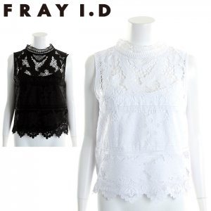 FRAYI.D フレイアイディー フラワーエンブロイダリートップス FWFB171531 【17SS1】【新作】 <img class='new_mark_img2' src='https://img.shop-pro.jp/img/new/icons11.gif' style='border:none;display:inline;margin:0px;padding:0px;width:auto;' />
