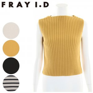 FRAYI.D フレイアイディー リブトップス FWNT171038 【17SS1】【新作】 <img class='new_mark_img2' src='//img.shop-pro.jp/img/new/icons11.gif' style='border:none;display:inline;margin:0px;padding:0px;width:auto;' />