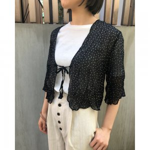 TODAYFUL トゥデイフル Chiffon Dot Blouse 11710449 【19SS1】【先行予約】【クレジット限定 納期3月〜4月頃予定】 <img class='new_mark_img2' src='https://img.shop-pro.jp/img/new/icons15.gif' style='border:none;display:inline;margin:0px;padding:0px;width:auto;' />