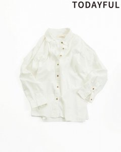 TODAYFUL トゥデイフル Washed Cotton Shirts 11820403 【19SS1】【先行予約】【クレジット限定 納期3月〜4月頃予定】 <img class='new_mark_img2' src='https://img.shop-pro.jp/img/new/icons15.gif' style='border:none;display:inline;margin:0px;padding:0px;width:auto;' />