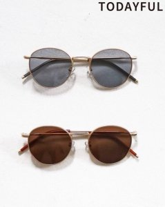 TODAYFUL トゥデイフル Flat Color Sunglasses 11821087 【19SS1】【先行予約】【クレジット限定 納期2月〜3月頃予定】 <img class='new_mark_img2' src='https://img.shop-pro.jp/img/new/icons15.gif' style='border:none;display:inline;margin:0px;padding:0px;width:auto;' />