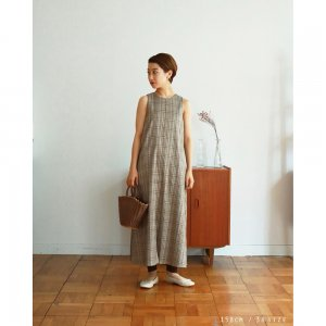 TODAYFUL トゥデイフル Check Flare Dress 11910316 【19SS1】【先行予約】【クレジット限定 納期3月〜4月頃予定】 <img class='new_mark_img2' src='https://img.shop-pro.jp/img/new/icons15.gif' style='border:none;display:inline;margin:0px;padding:0px;width:auto;' />