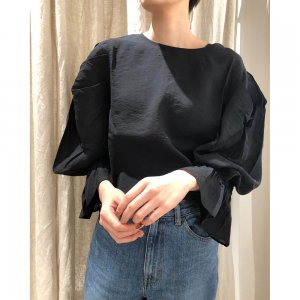 TODAYFUL トゥデイフル 2way Silkete Blouse 11910409 【19SS1】【新作】 <img class='new_mark_img2' src='https://img.shop-pro.jp/img/new/icons11.gif' style='border:none;display:inline;margin:0px;padding:0px;width:auto;' />
