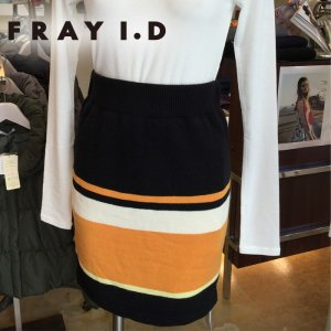 FRAY ID フレイアイディー マルチカラースカート FWNS135760 【13AW2】【SALE】【60%OFF】<img class='new_mark_img2' src='//img.shop-pro.jp/img/new/icons20.gif' style='border:none;display:inline;margin:0px;padding:0px;width:auto;' />