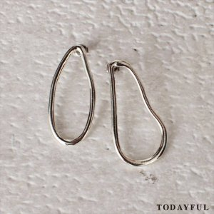 【SOLDOUT】TODAYFUL トゥデイフル Bend Ring Pierce 11620962 【16AW2】 <img class='new_mark_img2' src='https://img.shop-pro.jp/img/new/icons47.gif' style='border:none;display:inline;margin:0px;padding:0px;width:auto;' />