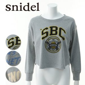 SNIDEL スナイデル グラフィックスウェット SWCT141208 【14SS】【SALE】【60%OFF】<img class='new_mark_img2' src='https://img.shop-pro.jp/img/new/icons20.gif' style='border:none;display:inline;margin:0px;padding:0px;width:auto;' />