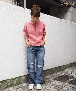 UNGRID アングリッド 【Ca】リメイククロップドデニム 111662410501 【16AW2】【人気商品】 <img class='new_mark_img2' src='//img.shop-pro.jp/img/new/icons31.gif' style='border:none;display:inline;margin:0px;padding:0px;width:auto;' />