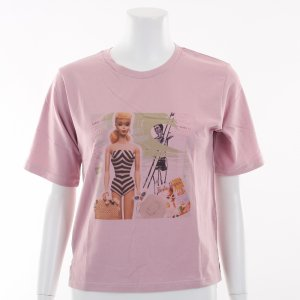 LILY BROWN リリーブラウン BarbieビーチプリントTシャツ LWCT191203 【19SS1】 【SALE】【30%OFF】<img class='new_mark_img2' src='https://img.shop-pro.jp/img/new/icons20.gif' style='border:none;display:inline;margin:0px;padding:0px;width:auto;' />