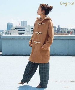 UNGRID アングリッド 【Ca】ミドル丈ダッフルコート 111650016801 【16AW1】 【SALE】【30%OFF】 <img class='new_mark_img2' src='//img.shop-pro.jp/img/new/icons20.gif' style='border:none;display:inline;margin:0px;padding:0px;width:auto;' />