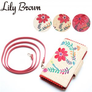 LILY BROWN リリーブラウン ポンポンiPhoneケース LWGG171312 【17SS1】【新作】 <img class='new_mark_img2' src='//img.shop-pro.jp/img/new/icons11.gif' style='border:none;display:inline;margin:0px;padding:0px;width:auto;' />