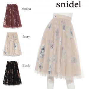SNIDEL スナイデル プリーツチュールSK SWFS175133 【17AW2】【新作】<img class='new_mark_img2' src='https://img.shop-pro.jp/img/new/icons11.gif' style='border:none;display:inline;margin:0px;padding:0px;width:auto;' />