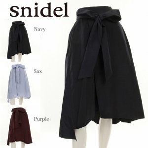 SNIDEL スナイデル アシメタフタスカート SWFS175151 【17AW2】【SALE】【40%OFF】<img class='new_mark_img2' src='https://img.shop-pro.jp/img/new/icons11.gif' style='border:none;display:inline;margin:0px;padding:0px;width:auto;' />