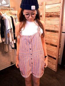 TODAYFUL トゥデイフル STRIPE SALOPETTE サロペット 11410702【14SS】【SALE】【60%OFF】<img class='new_mark_img2' src='https://img.shop-pro.jp/img/new/icons20.gif' style='border:none;display:inline;margin:0px;padding:0px;width:auto;' />