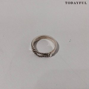 【SOLDOUT】TODAYFUL トゥデイフル Chain Combi Ring 11620965 【16AW2】 <img class='new_mark_img2' src='https://img.shop-pro.jp/img/new/icons47.gif' style='border:none;display:inline;margin:0px;padding:0px;width:auto;' />