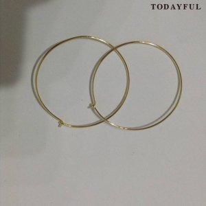【SOLDOUT】TODAYFUL トゥデイフル Hoop Pierce 11620966 【16AW2】 <img class='new_mark_img2' src='https://img.shop-pro.jp/img/new/icons47.gif' style='border:none;display:inline;margin:0px;padding:0px;width:auto;' />