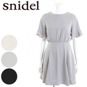 SNIDEL スナイデル フリルスリーブOP SWFO171038 【17SS1】【新作】 <img class='new_mark_img2' src='//img.shop-pro.jp/img/new/icons11.gif' style='border:none;display:inline;margin:0px;padding:0px;width:auto;' />