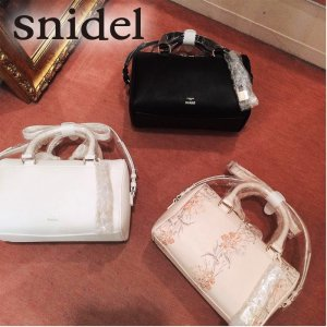 ●SNIDEL スナイデル スリムハンドボストン SWGB171602 【17SS1】【新作】 <img class='new_mark_img2' src='//img.shop-pro.jp/img/new/icons11.gif' style='border:none;display:inline;margin:0px;padding:0px;width:auto;' />