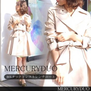 【SOLDOUT】MERCURY マーキュリー BOXタックドレストレンチCT 001720000401 【17SS1】【40☆】<img class='new_mark_img2' src='https://img.shop-pro.jp/img/new/icons47.gif' style='border:none;display:inline;margin:0px;padding:0px;width:auto;' />