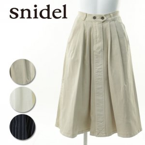SNIDEL スナイデル 膝丈フレアスカート SWFS144218 【14AW】【SALE】【60%OFF】<img class='new_mark_img2' src='https://img.shop-pro.jp/img/new/icons20.gif' style='border:none;display:inline;margin:0px;padding:0px;width:auto;' />