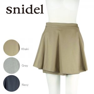 SNIDEL スナイデル ボンディングスカート付ショーパン SWFP144170 【14AW】【SALE】【60%OFF】<img class='new_mark_img2' src='https://img.shop-pro.jp/img/new/icons20.gif' style='border:none;display:inline;margin:0px;padding:0px;width:auto;' />