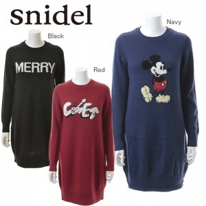 SNIDEL スナイデル インターシャニットプルオーバー SWNO144026 【14AW】【SALE】【60%OFF】<img class='new_mark_img2' src='https://img.shop-pro.jp/img/new/icons20.gif' style='border:none;display:inline;margin:0px;padding:0px;width:auto;' />