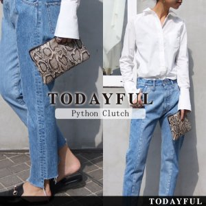 TODAYFUL トゥデイフル Python Clutch 11711021 【17SS1】【SALE】【40%OFF】<img class='new_mark_img2' src='https://img.shop-pro.jp/img/new/icons20.gif' style='border:none;display:inline;margin:0px;padding:0px;width:auto;' />