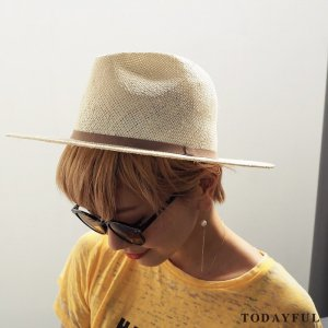 TODAYFUL トゥデイフル Straw Tape Hat 11711027 【17SS1】【新作】【3】<img class='new_mark_img2' src='https://img.shop-pro.jp/img/new/icons11.gif' style='border:none;display:inline;margin:0px;padding:0px;width:auto;' />