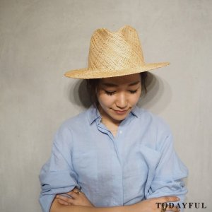 TODAYFUL トゥデイフル Straw Hat 11711028 【17SS1】【新作】 <img class='new_mark_img2' src='//img.shop-pro.jp/img/new/icons11.gif' style='border:none;display:inline;margin:0px;padding:0px;width:auto;' />