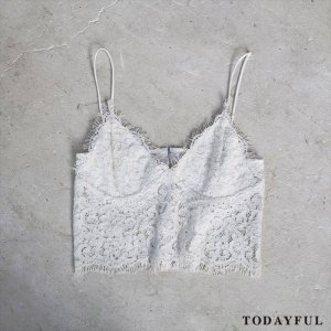 【SOLDOUT】TODAYFUL トゥデイフル Lace Bustier 11620430 【16AW2】 <img class='new_mark_img2' src='https://img.shop-pro.jp/img/new/icons47.gif' style='border:none;display:inline;margin:0px;padding:0px;width:auto;' />