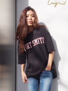 UNGRID アングリッド 【Ca】FORT SMITH Tee 111722707901 【17SS1】【新作】 <img class='new_mark_img2' src='//img.shop-pro.jp/img/new/icons11.gif' style='border:none;display:inline;margin:0px;padding:0px;width:auto;' />