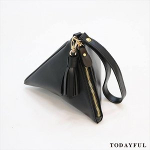 【SOLDOUT】TODAYFUL トゥデイフル Triangle Leather Bag 11621046 【16AW2】 <img class='new_mark_img2' src='//img.shop-pro.jp/img/new/icons47.gif' style='border:none;display:inline;margin:0px;padding:0px;width:auto;' />