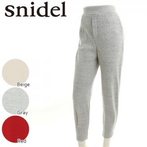 SNIDEL スナイデル カットテーパードPT SWCP172143 【17SS2】【新作】 <img class='new_mark_img2' src='//img.shop-pro.jp/img/new/icons11.gif' style='border:none;display:inline;margin:0px;padding:0px;width:auto;' />