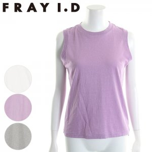FRAYI.D フレイアイディー コットンノースリトップス FWCT172238 【17SS2】【新作】 <img class='new_mark_img2' src='//img.shop-pro.jp/img/new/icons11.gif' style='border:none;display:inline;margin:0px;padding:0px;width:auto;' />
