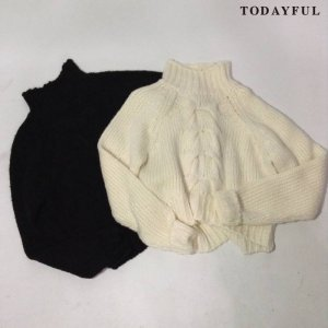 【SOLDOUT】TODAYFUL トゥデイフル Highneck Cable Knit 11620529 【16AW2】 <img class='new_mark_img2' src='//img.shop-pro.jp/img/new/icons47.gif' style='border:none;display:inline;margin:0px;padding:0px;width:auto;' />