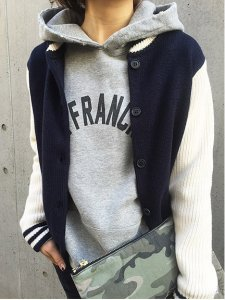 【SOLDOUT】TODAYFUL トゥデイフル VINTAGE LOGO PARKA パーカー 11510601【15SS】【50☆】