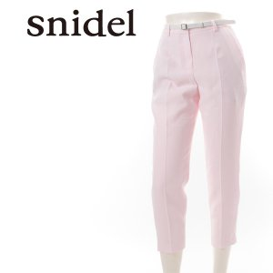 SNIDEL スナイデル ベルトつきパンツ SWFP151165 【15SS】【SALE】【50%OFF】<img class='new_mark_img2' src='https://img.shop-pro.jp/img/new/icons20.gif' style='border:none;display:inline;margin:0px;padding:0px;width:auto;' />