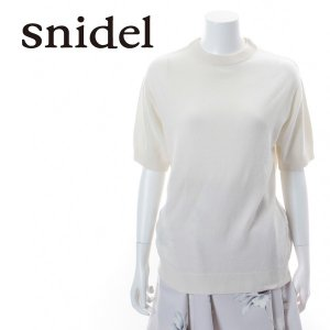 SNIDEL スナイデル カシミヤ混ミドル丈トップス SWNO151035 【15SS】【SALE】【50%OFF】<img class='new_mark_img2' src='https://img.shop-pro.jp/img/new/icons20.gif' style='border:none;display:inline;margin:0px;padding:0px;width:auto;' />