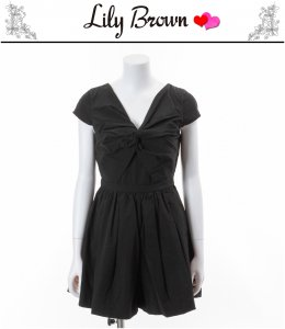 LILYBROWN リリーブラウン 前ねじりコンビネゾンドレス LWFO151046 【15SS】【SALE】【50%OFF】<img class='new_mark_img2' src='https://img.shop-pro.jp/img/new/icons20.gif' style='border:none;display:inline;margin:0px;padding:0px;width:auto;' />
