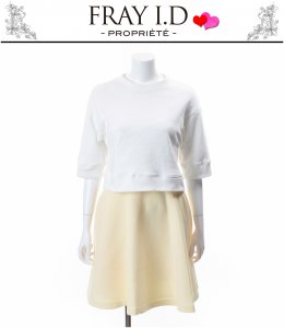 FRAYID フレイアイディー ワイドスウェットコンビワンピース FWFO151147 【15SS】【SALE】【50%OFF】<img class='new_mark_img2' src='https://img.shop-pro.jp/img/new/icons20.gif' style='border:none;display:inline;margin:0px;padding:0px;width:auto;' />