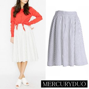 MERCURY マーキュリー 【DUO】 ストライプリネンフレアスカート 001510800501 【15SS】【SALE】【50%OFF】<img class='new_mark_img2' src='//img.shop-pro.jp/img/new/icons20.gif' style='border:none;display:inline;margin:0px;padding:0px;width:auto;' />