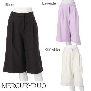 MERCURY マーキュリー 【LUX】 リネンガウチョパンツ 001520701401 【15SS2】【SALE】【50%OFF】<img class='new_mark_img2' src='//img.shop-pro.jp/img/new/icons20.gif' style='border:none;display:inline;margin:0px;padding:0px;width:auto;' />
