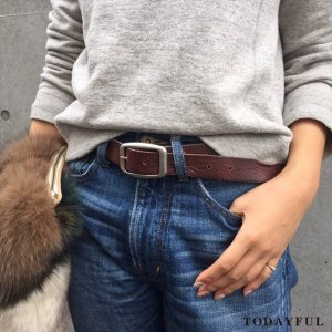 TODAYFUL トゥデイフル Vintage Leather Belt 11611018 【16AW2】 【人気商品】 <img class='new_mark_img2' src='//img.shop-pro.jp/img/new/icons31.gif' style='border:none;display:inline;margin:0px;padding:0px;width:auto;' />
